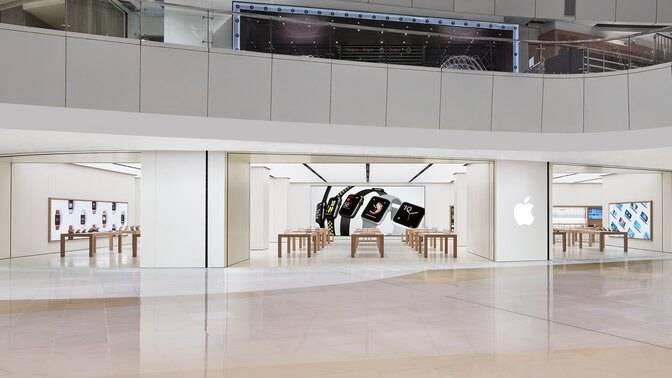 可於Apple Store維修(圖片來源:Apple)