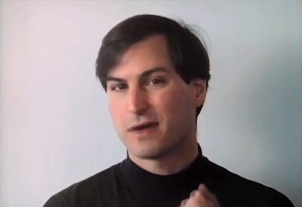 年輕時的Steve Jobs (圖片來源:apple)