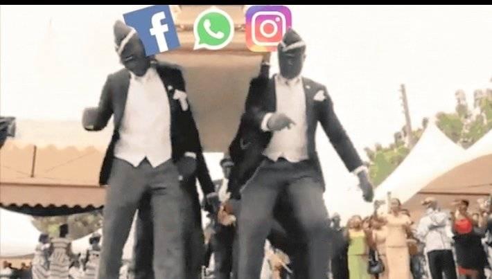 早前風靡一時的跳舞送殯隊又為facebook而出現。(圖片來源:twitter)