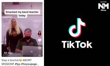 呃Like無極限! TikTok最新Challenge竟然是打老師 驚動執法部門急急介入