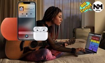 Apple 發佈會|AirPods 3及HomePod mini 價錢/規格/香港幾時有?AirPods 3續航30小時+Adaptive EQ巧能