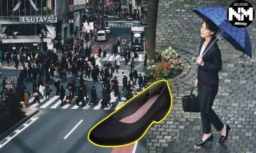 日本地震後無車搭 東京女網友走路回家意外捧紅超舒適高跟鞋 香港都有得賣