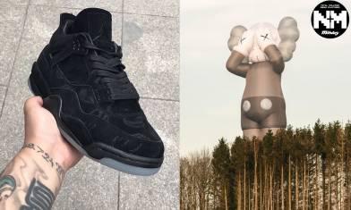 KAWS聯乘Nike波鞋相片網上流出 今次化身黑魂Air Jordan 4 比較跟舊版不同Detail位