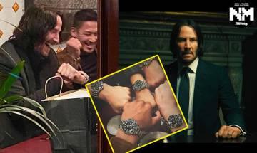 荷李活最暖男神又出手 奇洛李維斯向《John Wick》4特技演員老友一人一隻炒價逾$10萬Rolex