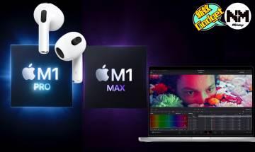 Apple10月發佈會2021|MacBook Pro 2021/AirPods 3各型號價錢/規格/幾時有?