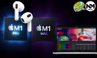 Apple10月發佈會2021 MacBook Pro 2021/AirPods 3各型號價錢/規格/幾時有?