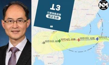 颱風圓規襲港|天文台示今午4-6將改掛8號 網友:咪又係放工先來掛