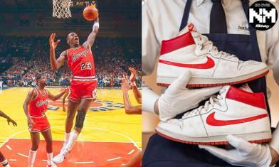 米高佐敦NBA生涯初期落場簽名波鞋 拍賣估價逾$1000萬 勢打破波鞋成交紀錄