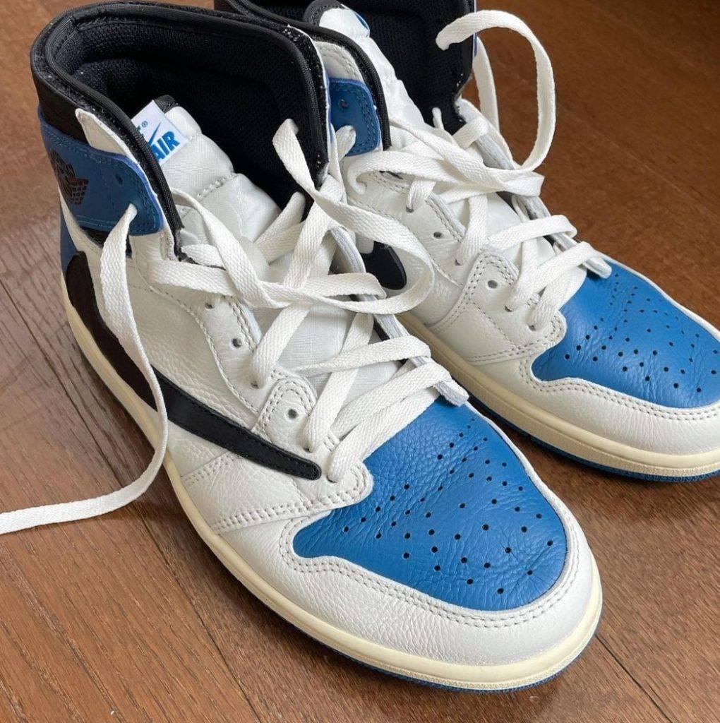 藤原浩之前也在 IG 分享鞋王的相片。(圖片來源:藤原浩IG)