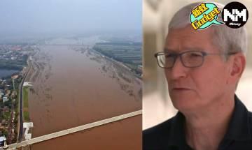 山西水災|中國科企捐錢賑災超過4億 網民狠批蘋果Tim Cook表態捐錢無下文