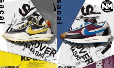 波鞋友起動!! 三方聯乘波鞋UNDERCOVER x sacai x Nike LDwaffle官圖釋出 今日開始有得抽